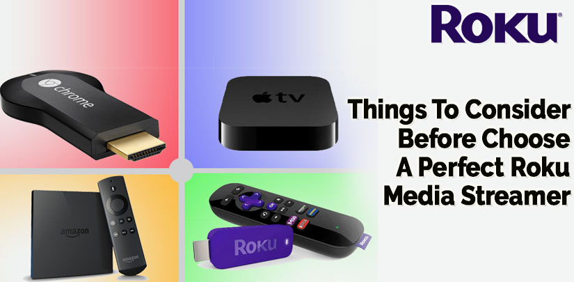 Things To Consider Before Choose A Perfect Roku Media Streamer