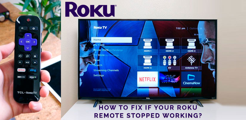 How To Fix If Your Roku Remote Stopped Working?