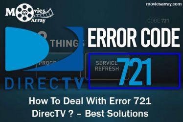 Error 721 Directv