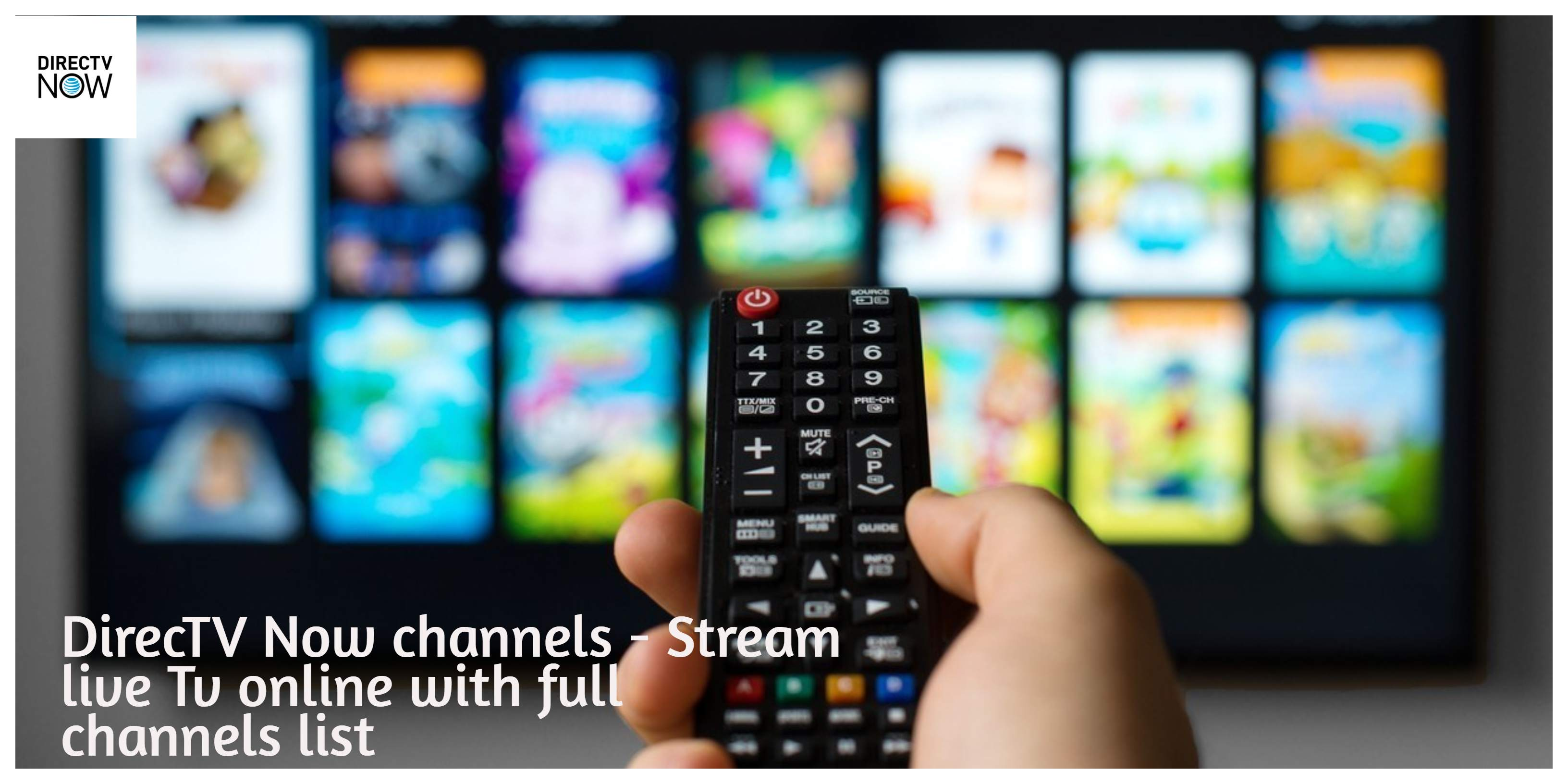 Directv Now channel