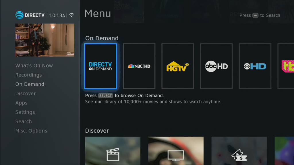 On demand channels