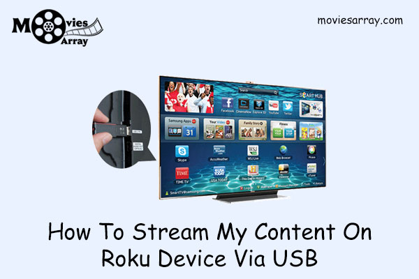 How To Stream My Content On Roku Device Via USB