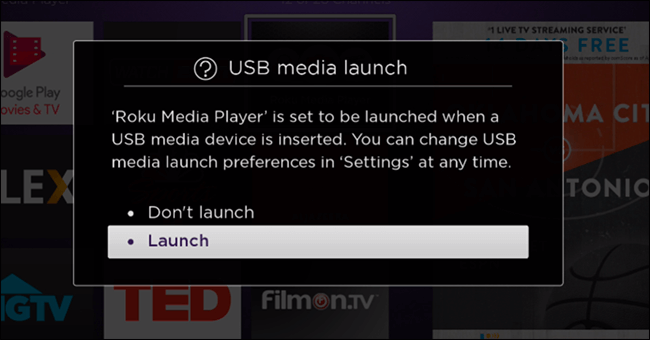 Launch usb