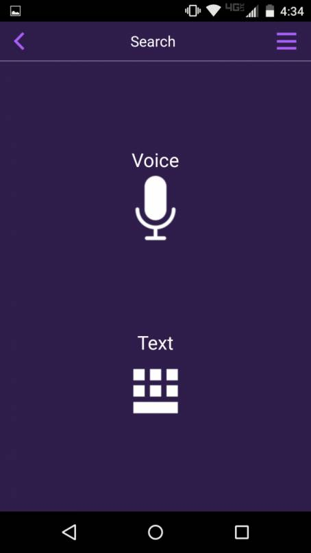 Select voice