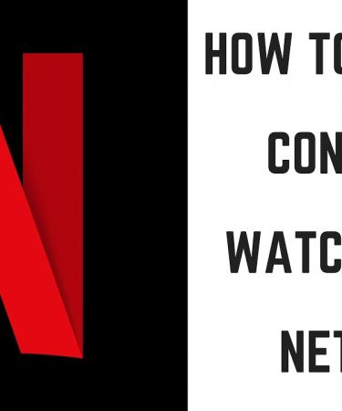 delete continue watching on netflix