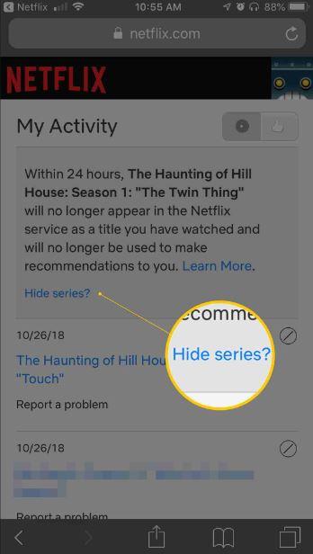 hide series